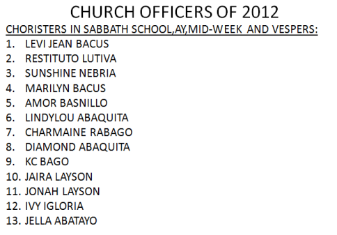 LSDA 2012 Officers-Church Choristers1